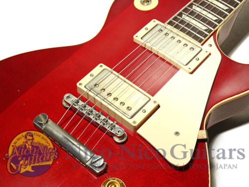 """2013 Gibson Custom Shop 1957 Les Paul Harrison-Clapton """"Lucy"""" Aged Red"""