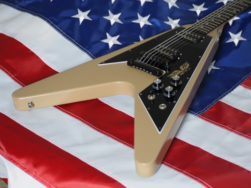 2013 Gibson Flying V Government Tan