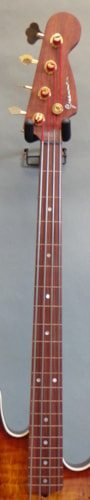 2013 Greenman Guitarworks J-Style Fretless Bass Spalted Curly Maple, Brand New, Hard