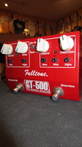 2014 Fulltone GT-500 Distortion Boost Overdrive Red, Excellent, $119.00