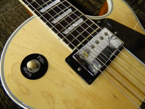 2014 Gibson Limited Edition Les Paul Classic Custom Natural