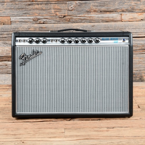 Fender Vintage Modified '68 Custom Deluxe Reverb Silverface w/Footswitch  2015