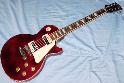 Gibson Les Paul Traditional Pro III Wine Red 2015 OHSC