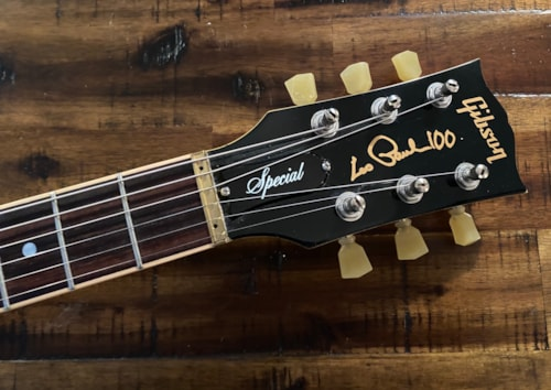 2015 Gibson  Les Paul Special 100th Anniversary TV Yellow