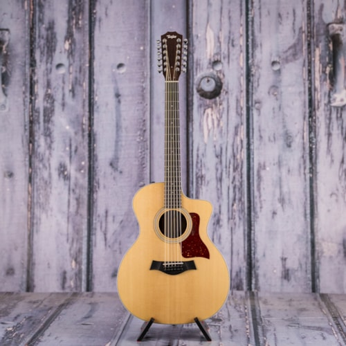 Used 2015 Taylor 254ce DLX 12-String Acoustic Electric, Natural