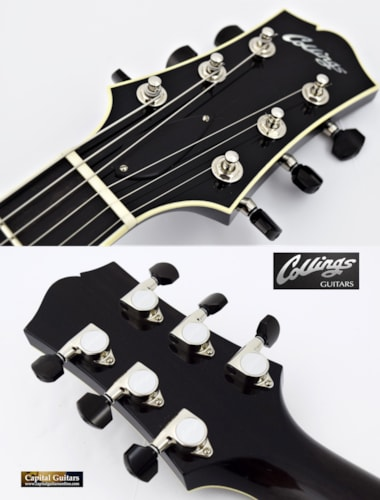 2016 Collings I-35 Deluxe with ThroBaks, Custom Finish Charcoal
