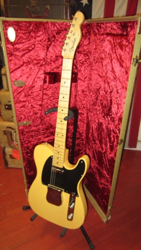 2016 Fender '52 Re-Issue Telecaster (1952 reissue) Blonde Clean with Paperwork and Original Case