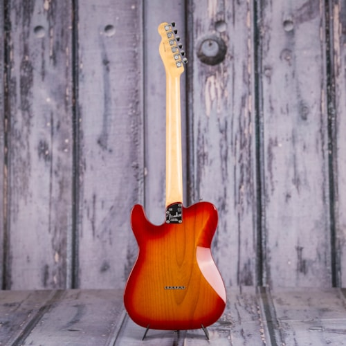 Used 2016 Fender American Elite Telecaster, Aged Cherry Burst