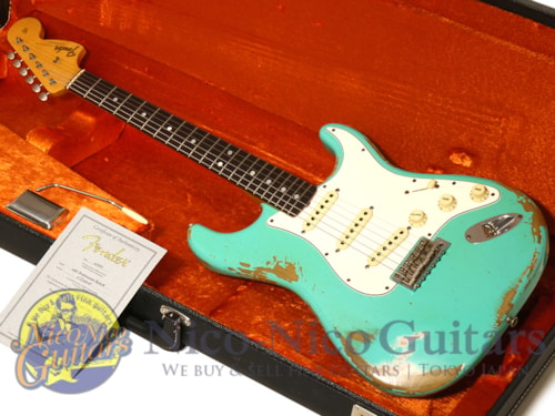 2016 Fender Custom Shop 1967 Stratocaster Heavy Relic Sea Foam Green