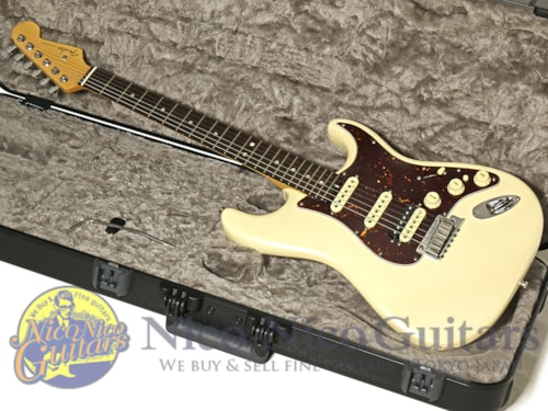 2016 Fender USA American Elite Stratocaster HSS Olympic Pearl