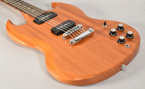 Gibson SG Naked 2016 Limited Run Walnut Vintage Gloss | Reverb