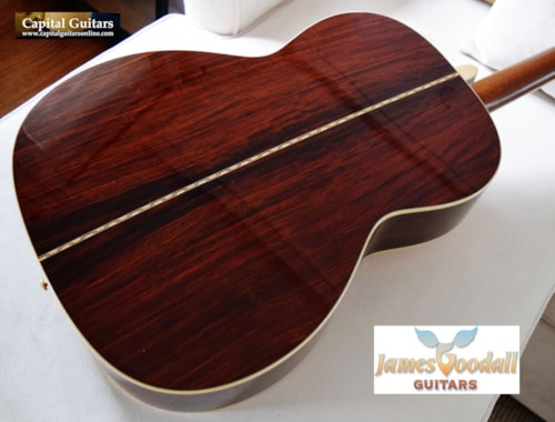 2016 Goodall Traditional 000 12-Fret SS German Cocobolo