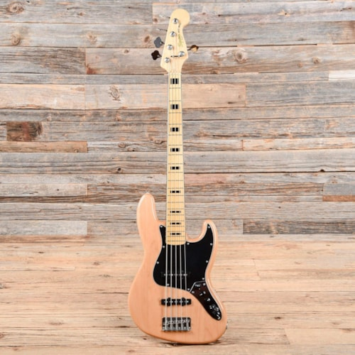 Squier Vintage Modified Jazz Bass V Natural 2016