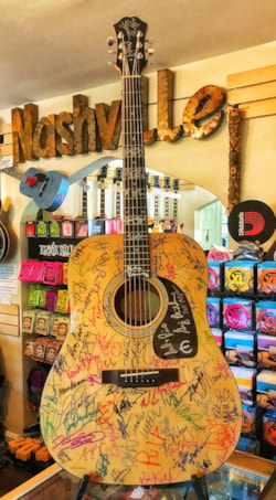 2017 Epiphone FT-100 Signed By Over 100 Acclaimed Artists