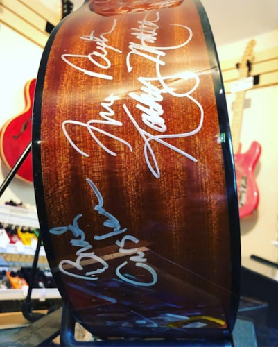 2017 Epiphone FT-100 Signed By Over 100 Acclaimed Artists Natural