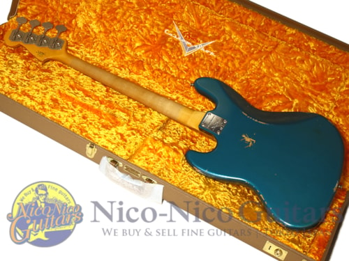 2017 Fender Custom Shop NAMM Limited 1960 Jazz Bass Relic Aged Ocean Turquoise