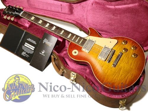 2017 Gibson Custom Shop Historic Collection 1958 Les Paul HRM Hand Selected VOS Washed Cherry