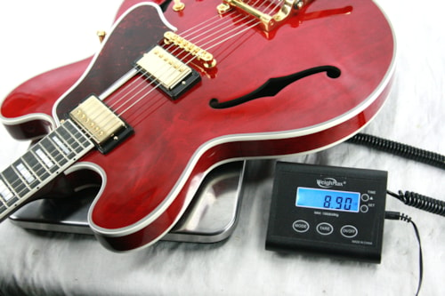 2017 Gibson ES-355 VOS 60's CHERRY! Gold Bigsby! Memphis 335 345