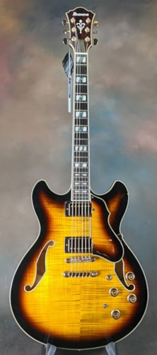 2017 Ibanez AS153AYS Sunburst