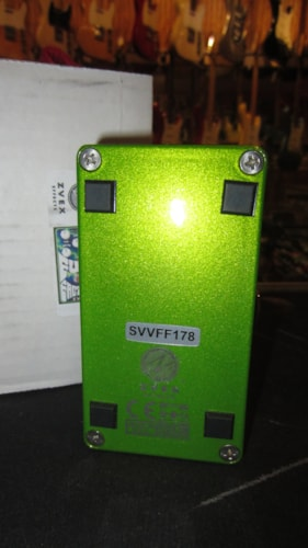 ~2017 ZVex Vertical Fuzz Factory Silicon psychedelic graphics w; Box