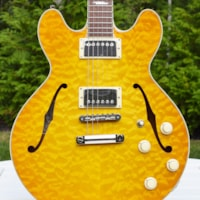 2018 Collings I-35 Deluxe with ThroBaks, Premium Quilt Top