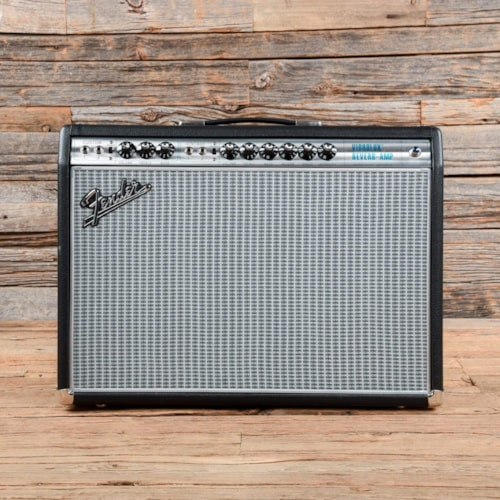 Fender Vintage Modified '68 Custom Vibrolux Reverb w/Footswitch Silverface 2018