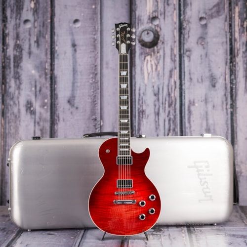Used 2018 Gibson USA Les Paul Standard HP, Blood Orange Fade