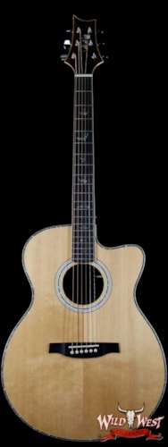 Paul Reed Smith - PRS Paul Reed Smith PRS SE A60E Ziricote Back & Side Electric-Acoustic Natural