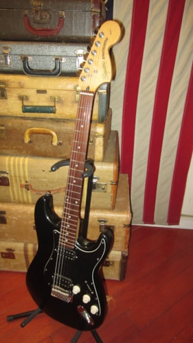 2018 Squier by Fender Standard Series Stratocaster HSS with Humbuckers Black