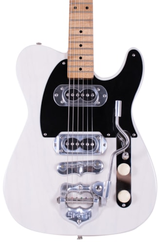 2018 TK Smith Equipped Parts Telecaster Transparent White