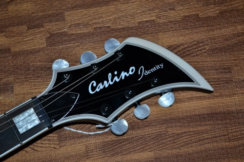 2019 Carlino  Identity Custom Trans Purple Burst Flame