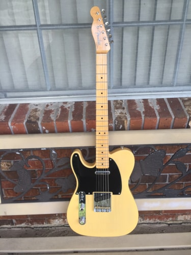 LEFTY 2019 Fender Custom Shop Double Esquire, Mint Condition!