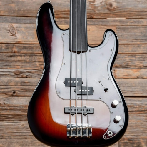 Fender Artist Series Tony Franklin Signature Precision Bass 3-Color Sunburst 2019