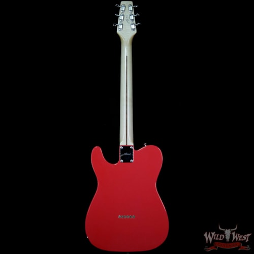 2019 Fred Stuart Wild West 20th Anniversary Diamond Back Snake Head HS Guitar Maple Neck Fiesta Red #06 Fiesta Red