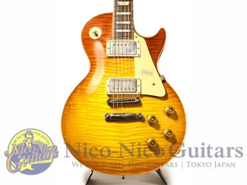 2019 Gibson Custom Shop 1959 Les Paul VOS 60th Anniversary Hand Selected Slow Ice Tea Fade