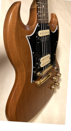 2019 Gibson SG Tribute Natural Walnut