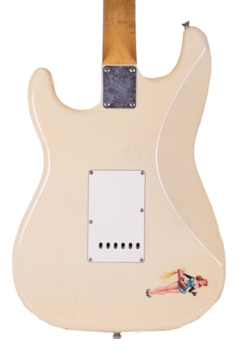 "2019 Pin Up ""Jane"" Strat-Style Guitar Olympic White"