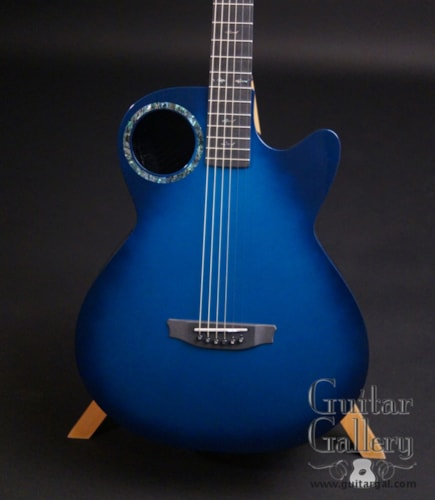 RainSong CO-WS1005NSM Blue Carbon Fiber Guitar