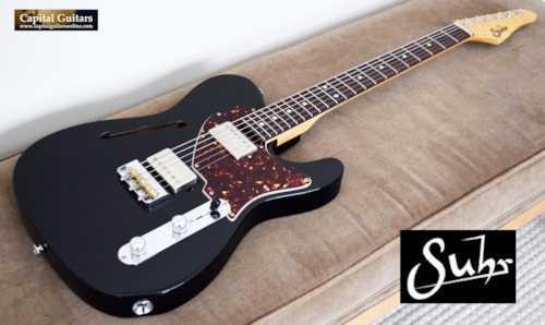 2019 Suhr Alt T Pro with Upgraded G&G Case Black Gloss