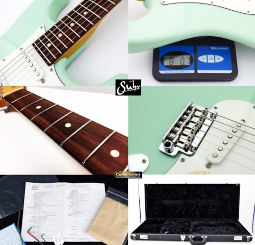 2019 Suhr Classic S Surf Green