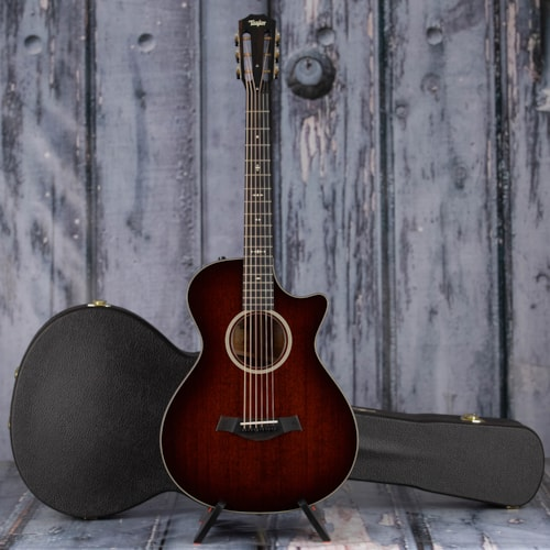 Used 2019 Taylor 522ce Acoustic/Electric, Shaded Edge Burst