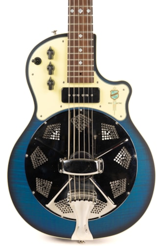 National ResoLectric Biscayne Blue
