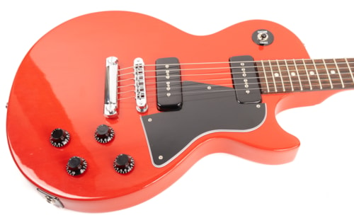 2001 Gibson Les Paul Special Transparent Red