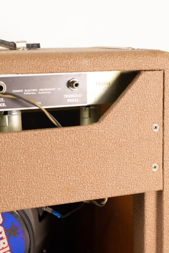 "1962 Fender ""Brown"" Princeton 6G2 1x12 Combo Amplifier"