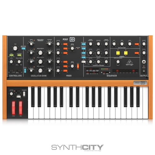 Behringer Poly D 4-Voice Polyphonic Synthesizer