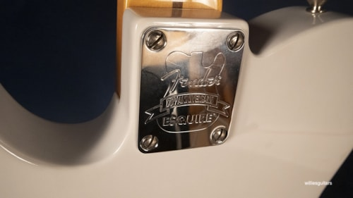 2020 Fender 70th Anniversary Esquire White Blonde