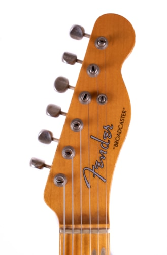 2020 Fender Custom Shop Limited Edition 70th Anniversary Broadcaster Relic Aged Nocaster Blonde