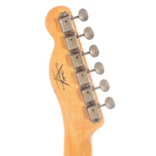 Fender Custom Shop 2020 Limited Edition Roasted Pine Double Esquire Relic Aged Black
