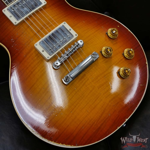 """2020 Gibson Custom Shop M2M Hand Selected Top 1958 Les Paul Murphy Lab Heavy Aging """"First Standard"""""""