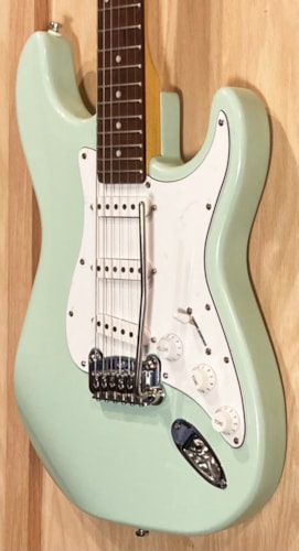 2020 G&L Legacy Tribute Surf Green